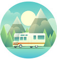 mobile home vector image