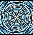 random concentric circles abstract background vector image vector image