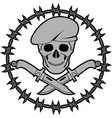 symbol special forces second variant vector image