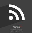 Wifi Wi-fi Wireless Network icon symbol Flat vector image