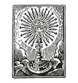 a communion depicting traditional christian vector image vector image