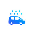car wash icon on white vector image