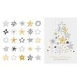 elegant merry christmas background banner vector image vector image