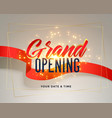 grand opening celebration flyer greeting