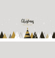 simple holiday new year card vector image vector image
