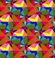 The pattern of colored mosaic vector image vector image