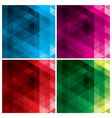 abstract geometric backgrounds with triangles vector image vector image