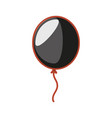 balloon helium isolated icon vector image vector image