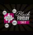 black friday shopping sales vector image