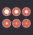 diaphragm steps vector image
