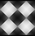 seamless geometrical abstract diagonal square vector image vector image