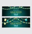 abstract halloween sale vector image vector image