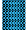 Bright abstract seamless pattern with blue arrows vector image vector image