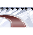 film with lights vector image vector image