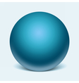 Sphere glass template vector image