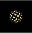 star planet logo vector image