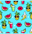 tropic seamless pattern vector image vector image