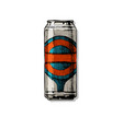 beverage can vector image vector image