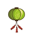 Chinese lantern Isolated vector image vector image