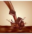 Choco Milk vector image vector image