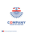 company name logo design for optimization site vector image vector image