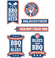 Barbecue and Blues vector image vector image