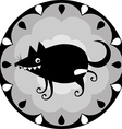 funny Chinese horoscope dog vector image vector image