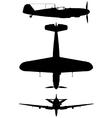 Messerschmitt BF 109G vector image vector image