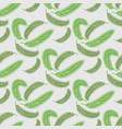 palm leaves seamless floral pattern tropical print vector image vector image