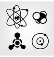 physical symbols vector image vector image