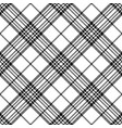 simple pixel check black white seamless pattern vector image vector image