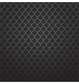 square black metal grill vector image vector image