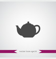 teapot icon simple vector image vector image
