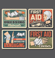 wound and injury bandaging medical first aid