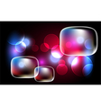 Background with bubbles vector image vector image