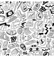 Business - seamles pattern vector image