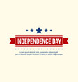 collection banner independence day celebration vector image vector image
