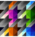 geometrical hounds-tooth pattern vector image vector image