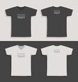 Mens tshirt design template