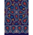 oriental paisley seamless pattern and border set vector image vector image