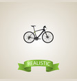 realistic training vehicle element vector image vector image