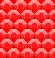 Ruby seamless pattern background of Red gems vector image vector image