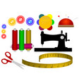 spool of thread the needle vector image