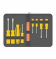 tool kit maintenance vector image vector image