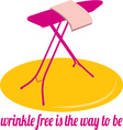 Wrinkle Free vector image vector image