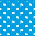 china flag pattern seamless blue vector image vector image