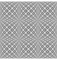 Design seamless monochrome warped grid pattern