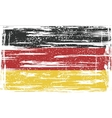Germany grunge flag vector image vector image
