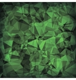 Green Polygonal Background vector image vector image