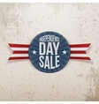 Independence Day Sale circle Emblem vector image vector image